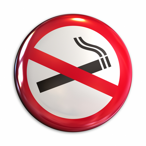 image of no smoking sign